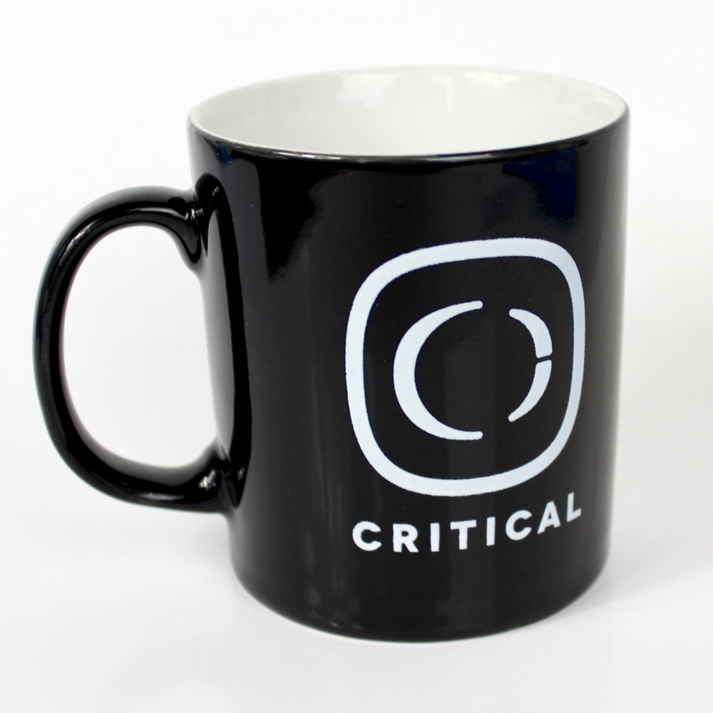 critical logo 2018 mug
