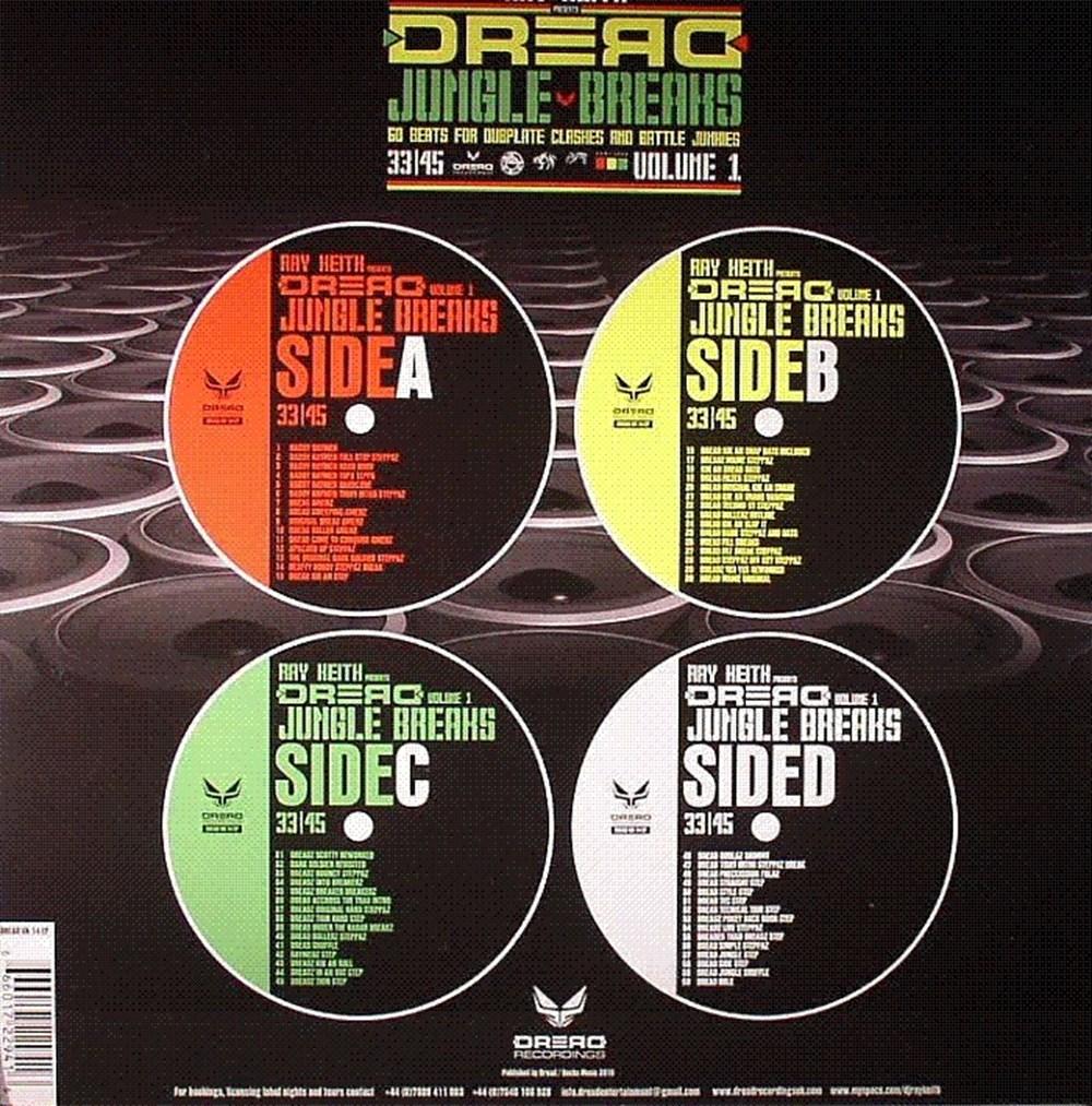 Ray Keith - Dread Jungle Breaks (Volume 1)