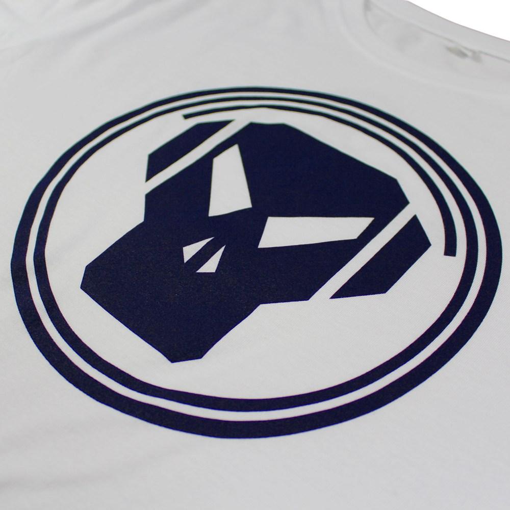 Metalheadz Logo T Shirt Navy On White Alchemy