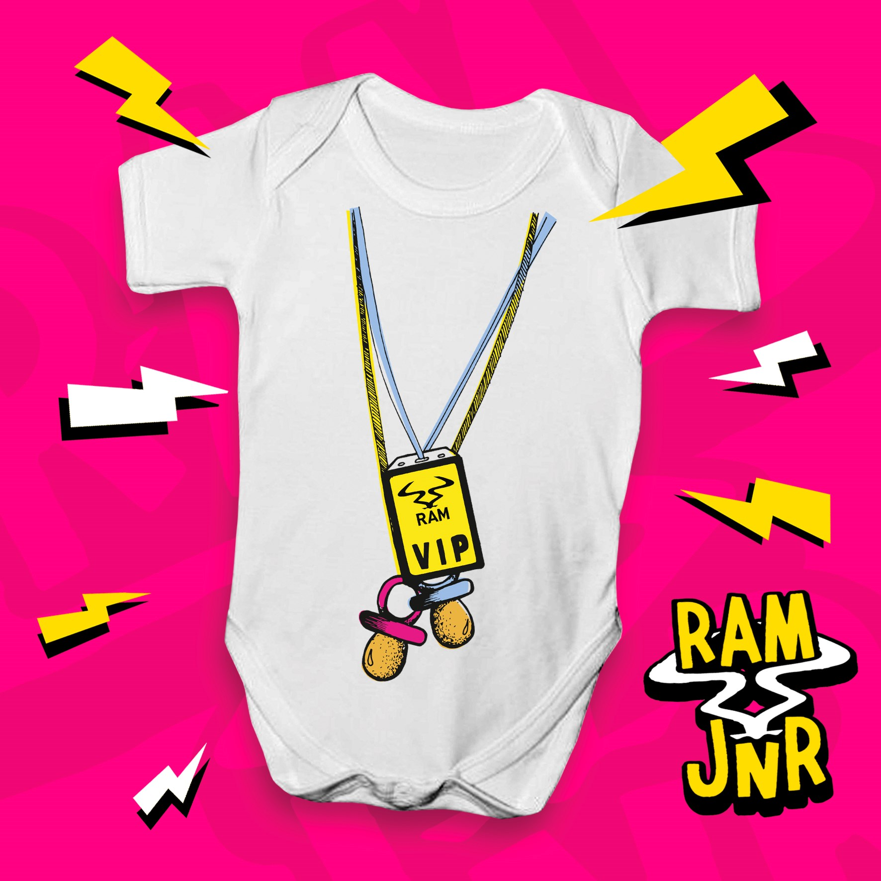 332ec8a7e5b RAM JNR VIP Babygrow