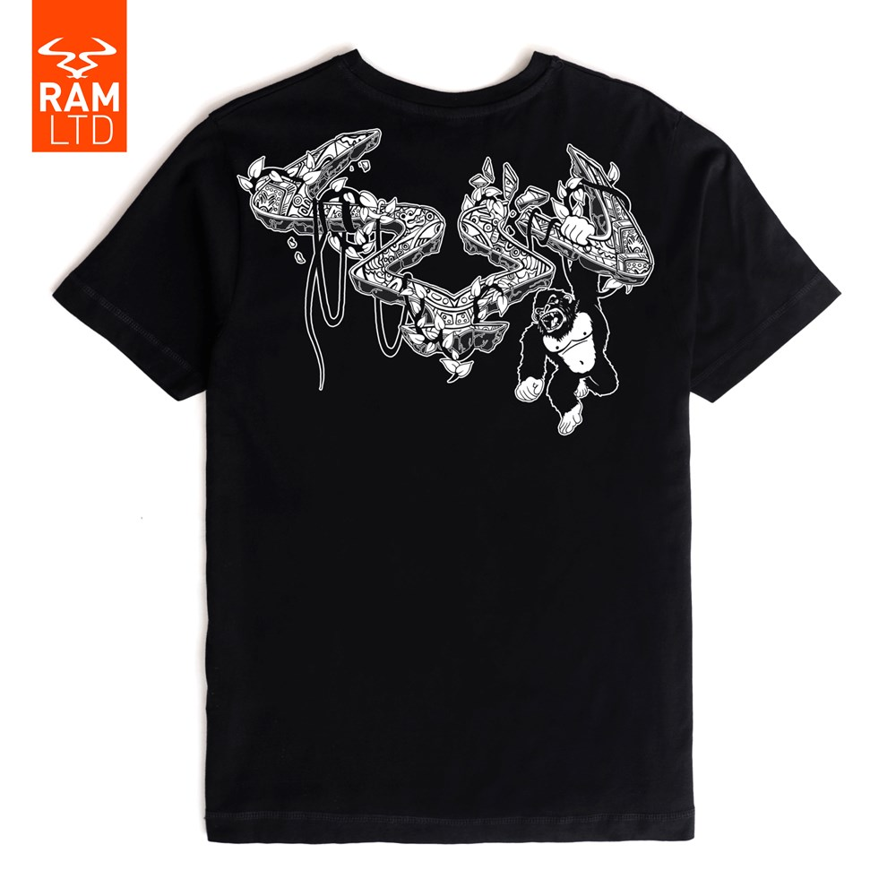 Ram Records Short Circuit Tshirt Johnny Number 5 Shirt Movie Deep In The Jungle T Black Ltd
