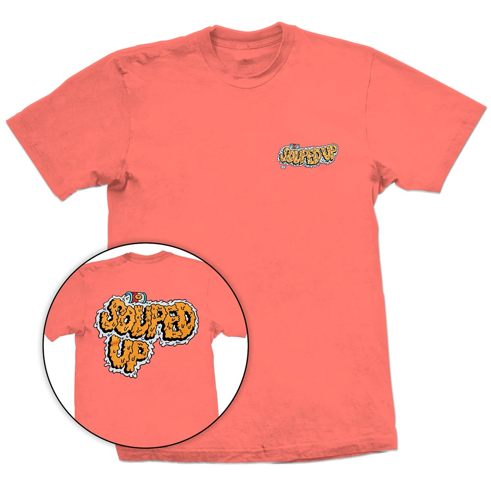 New Skeeter Limited Edition T Shirt Orange Size Large